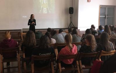 Értékeim, kérdéseim, félelmeim – a Patrona Hungariae Gimnáziumban tartottunk előadást